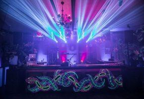 Corporate event: Neon lights