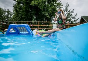 Corporate event: Pool party