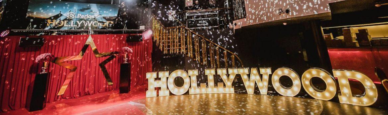Įmonės šventė: Holivudas