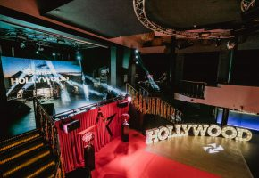 Corporate event: Hollywood