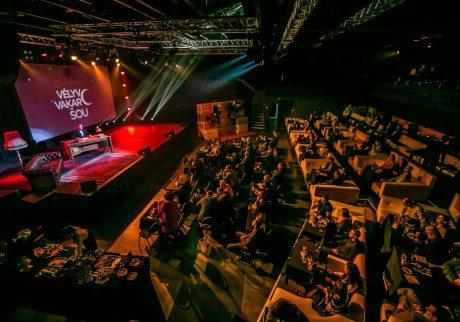 Įmonės jubiliejus ir klientų vakaras: Vėlyvo vakaro šou