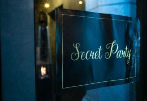 Corporate event: Secret Party