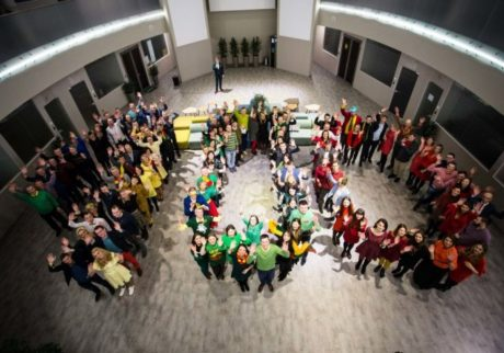Įmonės šventė: Lietuvai 100