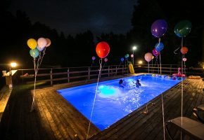 Vasaros šventė: Pool party